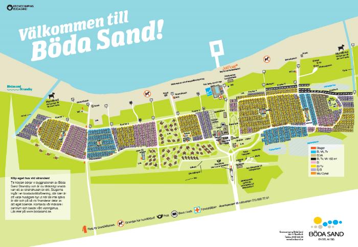 bøda sand kart Campingplasser i Sverige   Page 2 bøda sand kart