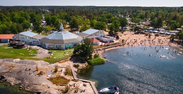 Barnvänlig camping i Småland   5 stjärnig   Västervik Resort