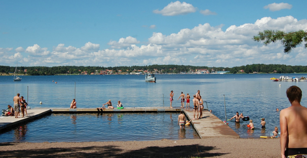 Hallmare Havsbad Loftahammar Småland Camping.se