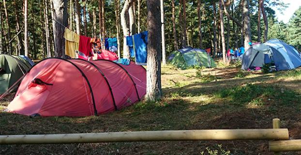 Borrbystrand Camping Borrby Skåne Campingse