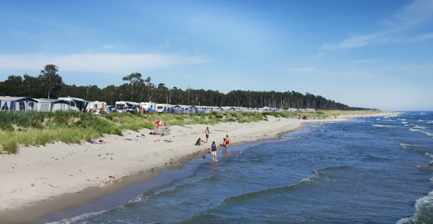 Löderups Strandbads Camping Löderup Skåne Campingse