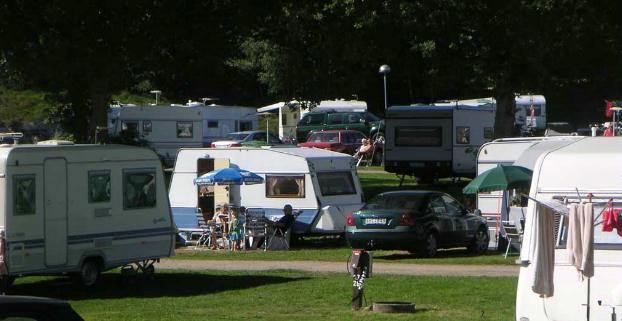 Grottbyn Skånes Djurparks Camping Höör Skåne Campingse