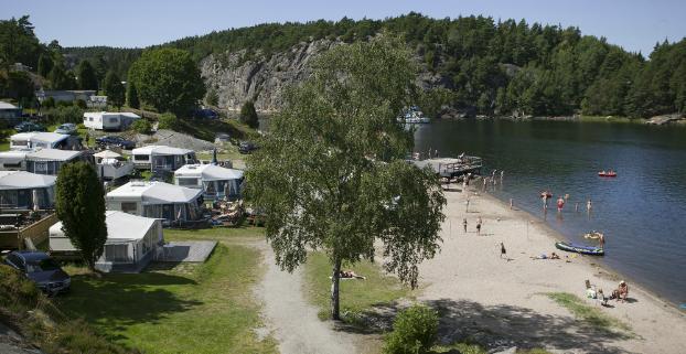 kart over camping sverige Lagunen Camping & Stugor   Strömstad   Bohuslän   Camping.se kart over camping sverige
