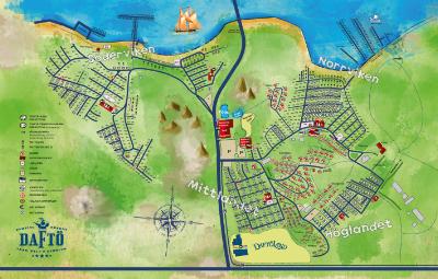 kart over camping sverige Daftö Camping Resort   Strömstad   Bohuslän   Camping.se kart over camping sverige
